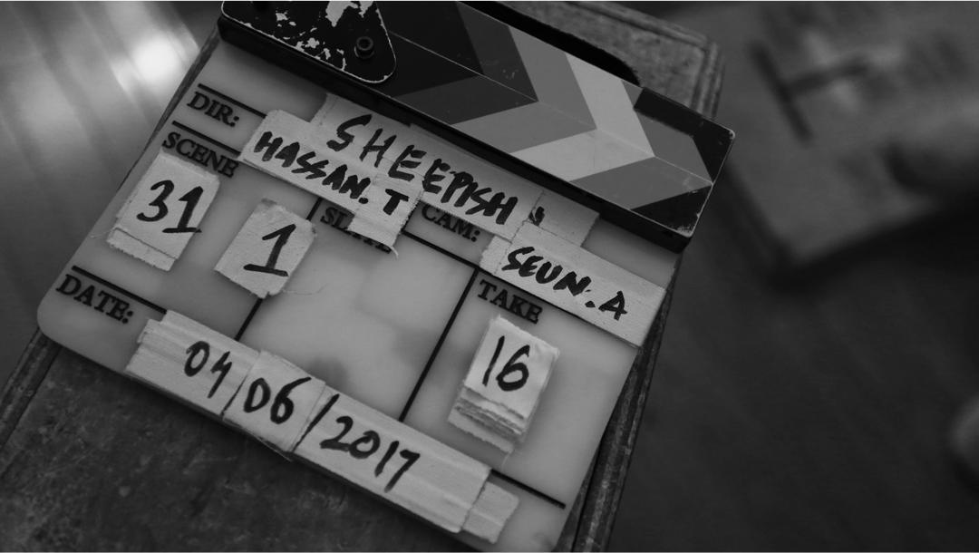 Behind the Scenes - Sheepish Film, 2017. Director, Hassan Telufusi. Cinematographer, Seun Aladese.