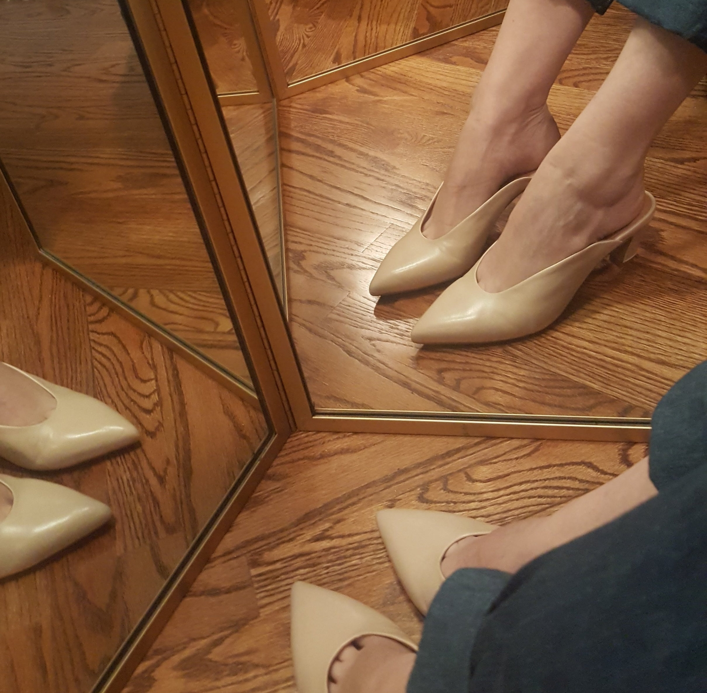 Beautiful shoes, back you go. - Thoughts on returns and an informal review of the Per mules by Intentionally Blank.