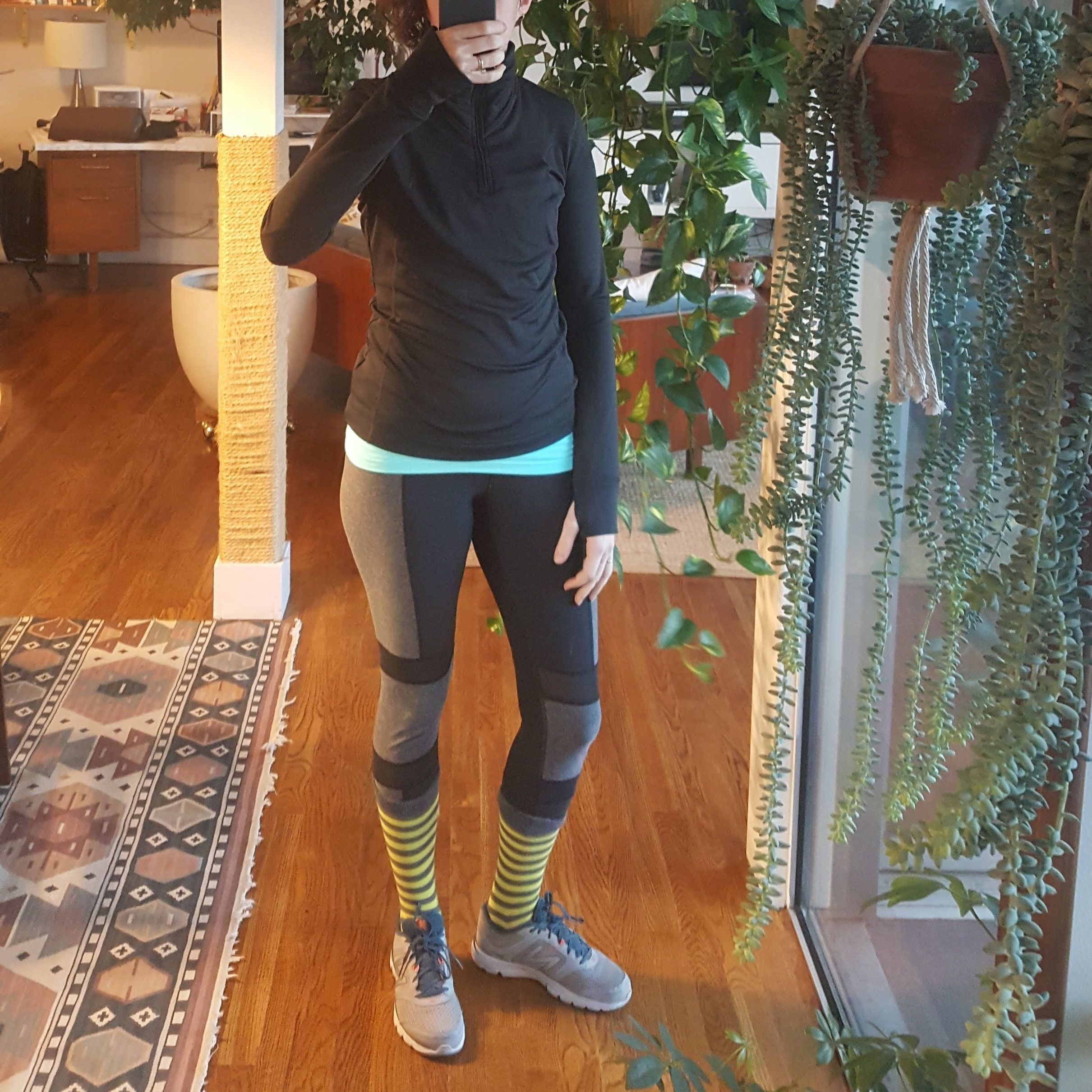 Went out in the cold this morning to do some jump rope. - A new beginning for fitness + me?