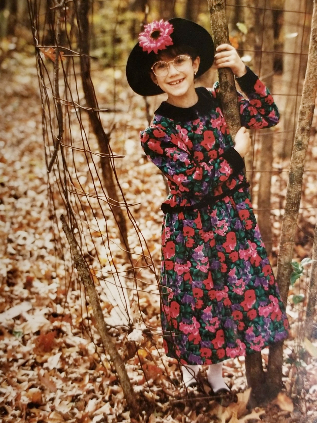 Wild thing - My mom may have styled this shoot but the attitude is all me. You can make your kid wear the fancy outfit but your kid is gonna want to get her picture taken with the rusty chicken wire