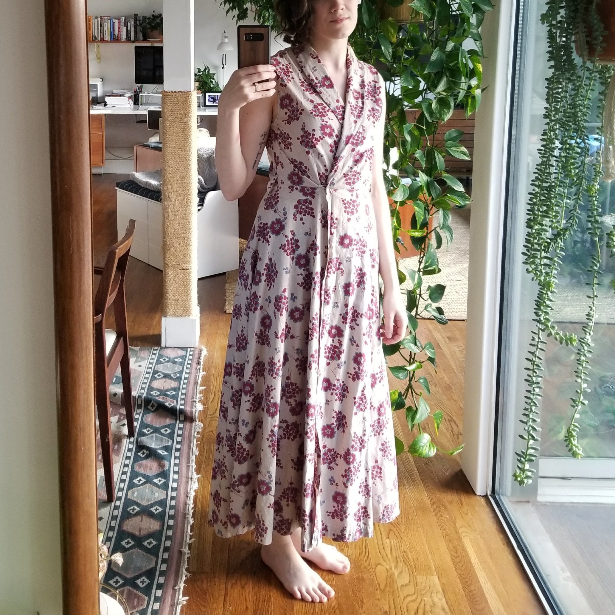 What do you think, fit for a 1947 landlady?