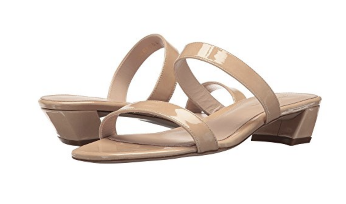 Stuart Weitzman - Ava - I like this minimal look a lot! And the heel is cool. But why do they have to be patent???