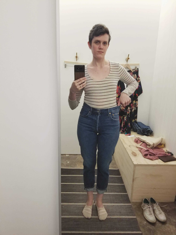AGOLDE Jamie Hi-Rise jeans