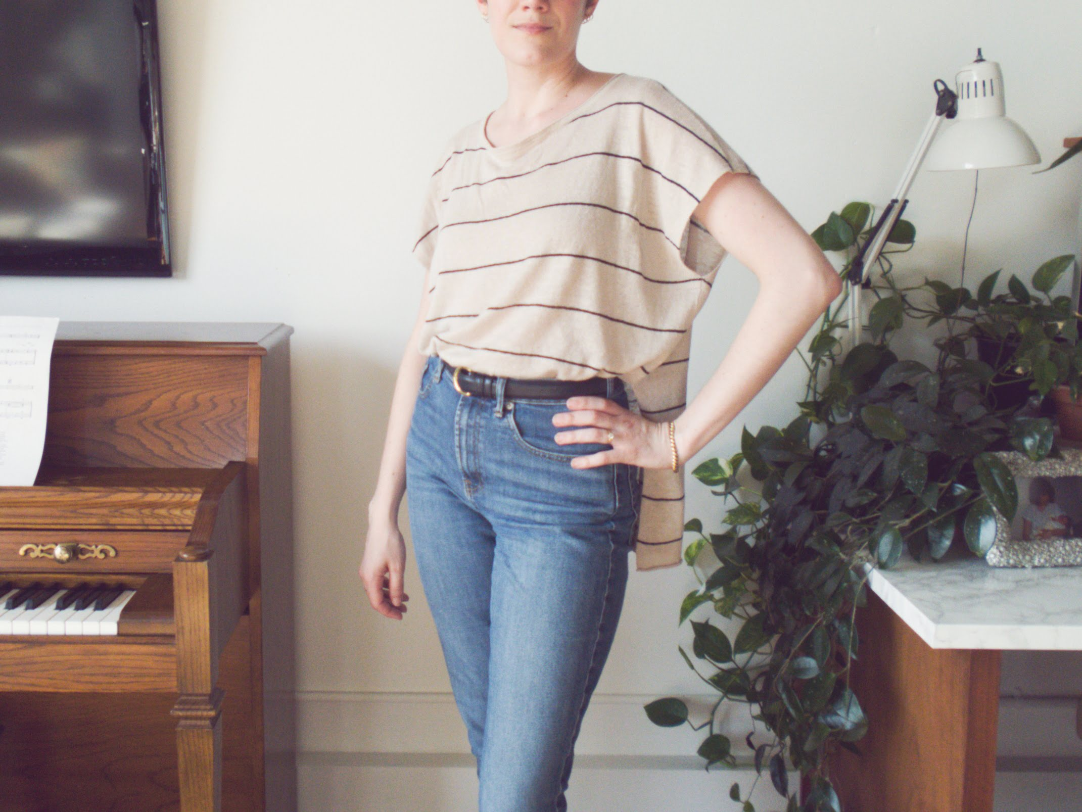 A secondhand Eileen Fisher top