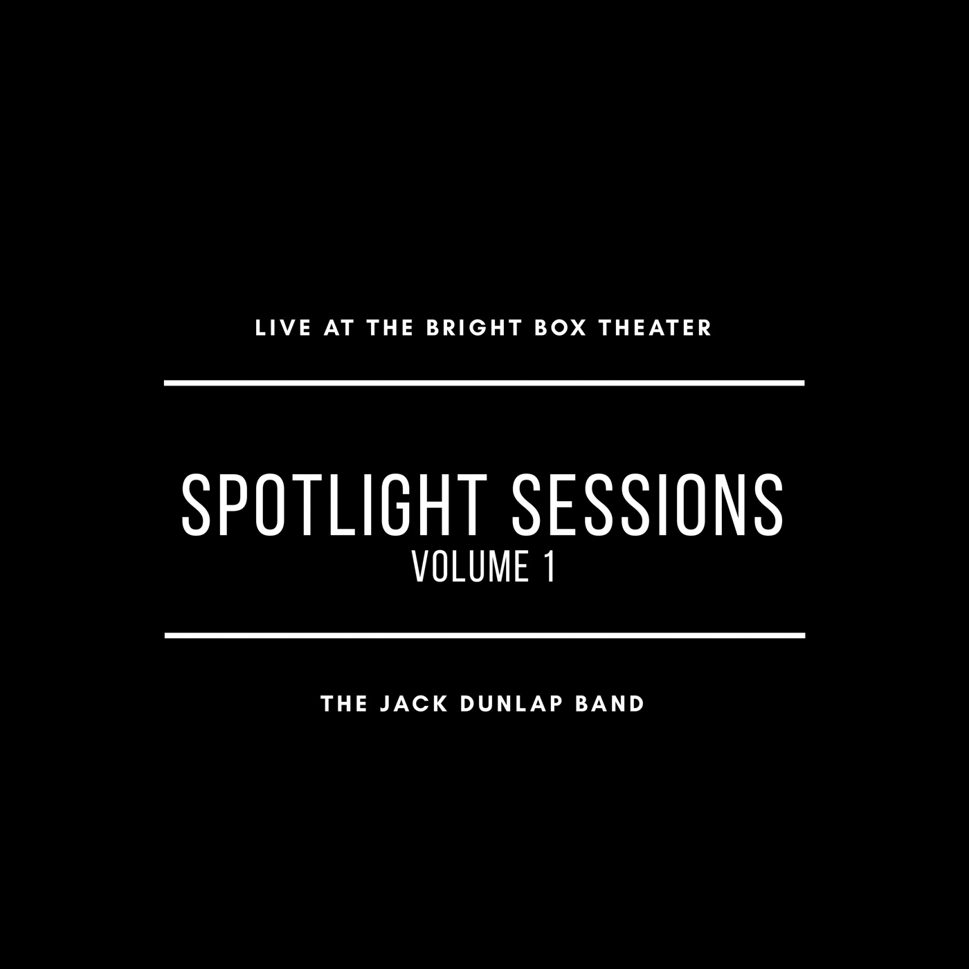 SPOTLIGHT SESSIONS: VOLUME 1 NOW AVAILABLE!