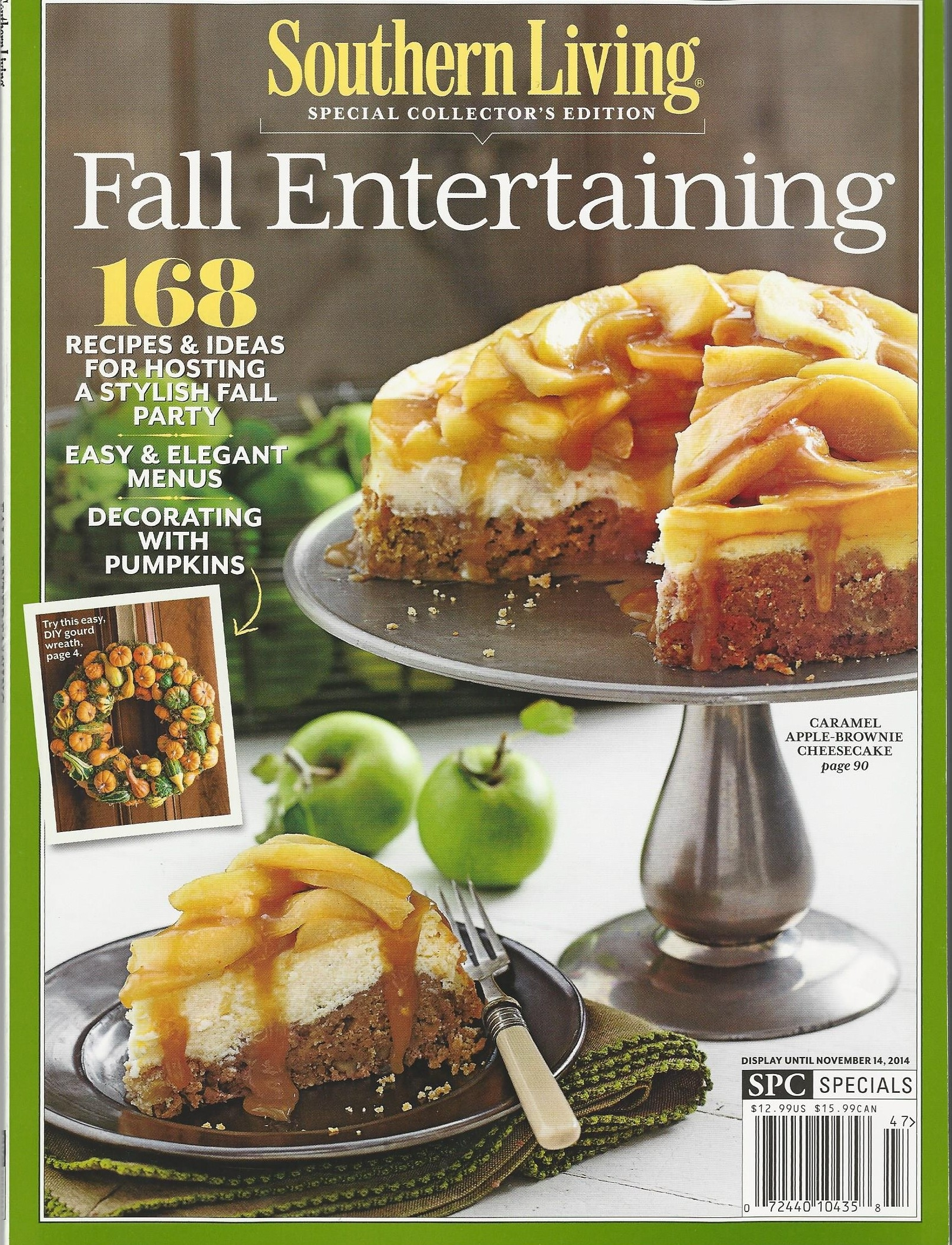 Southern Living Fall Entertaining  FALL 2014