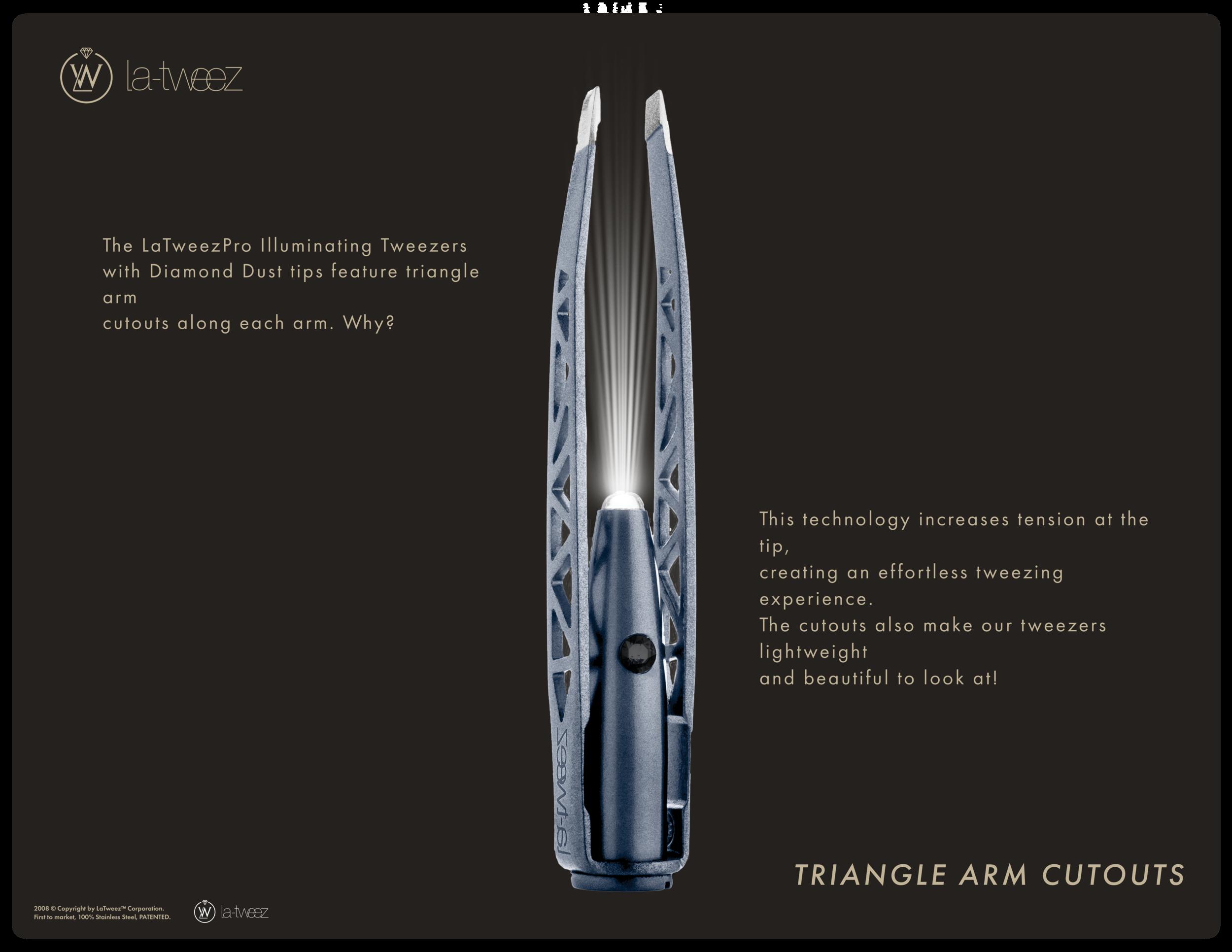 Triangle Arm Cutouts