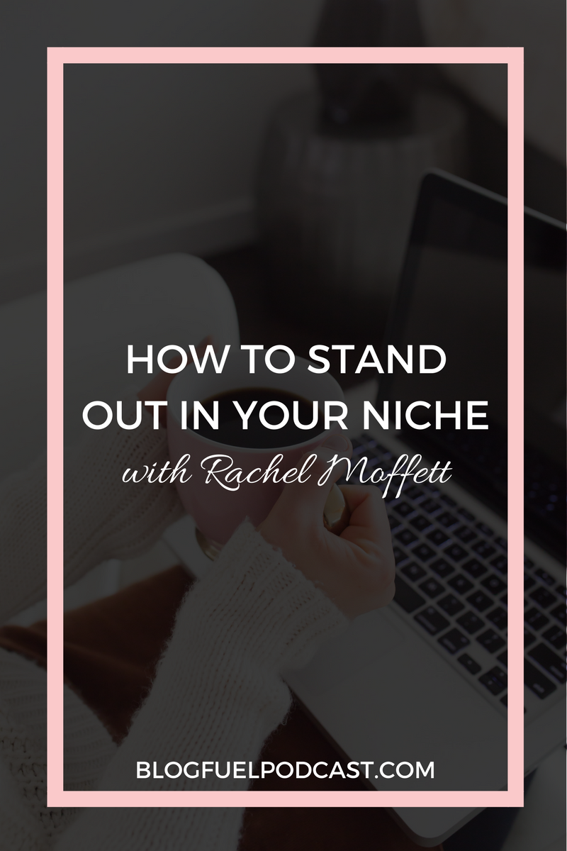 Stop swimming in a sea of same-ness with your blog or online business. Rachel from The Haute Notes and I talk about how to stand out in your niche, establish your voice, and build authority. Blog Fuel Ep. 014