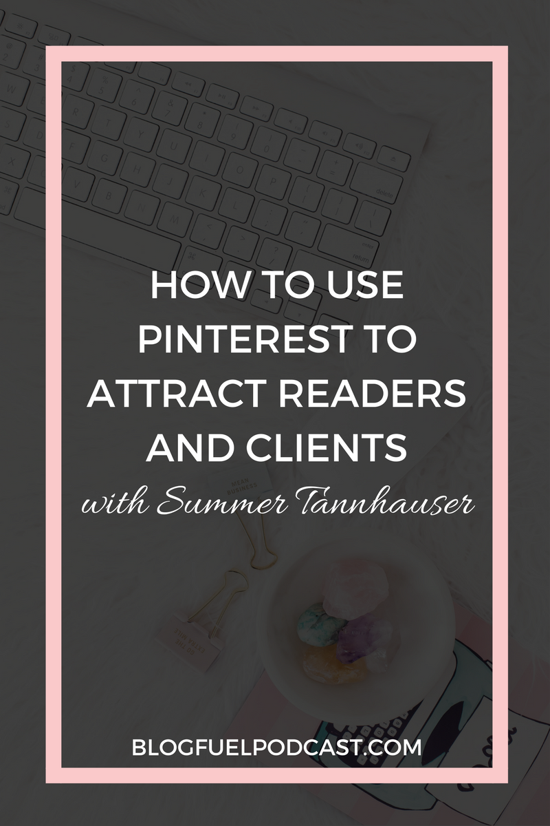 Pinterest is more than just beautiful images, it's a powerful search tool that can help bring readers to your blog or clients to your business. Summer Tannhauser of Lady Boss League shows you how to use Pinterest to attract readers and clients to your website.