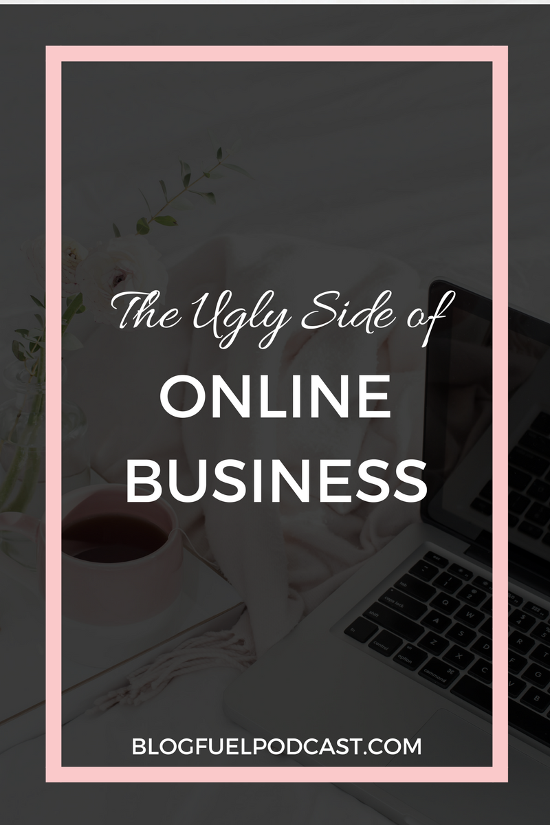 Running an online business can be a dream come true, but with all the good things, there are some not-so-good things. In Episode 030, we talk about the ugly side of online business, and talk about things like money, isolation, and trying to do ALL THE THINGS.