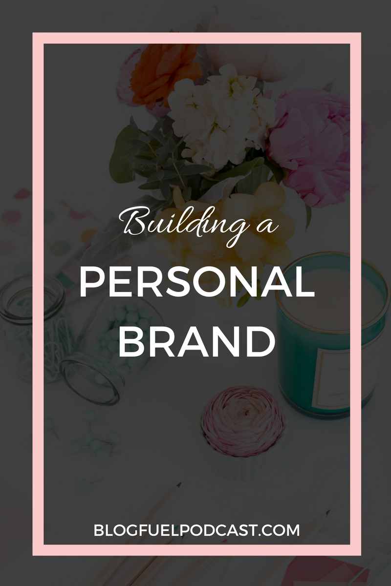 Your personal brand is more than fonts and colors - it's YOU. In this podcast episode, we talk about using your about page to express your brand, being intentional with color psychology, and how your voice builds your authority.