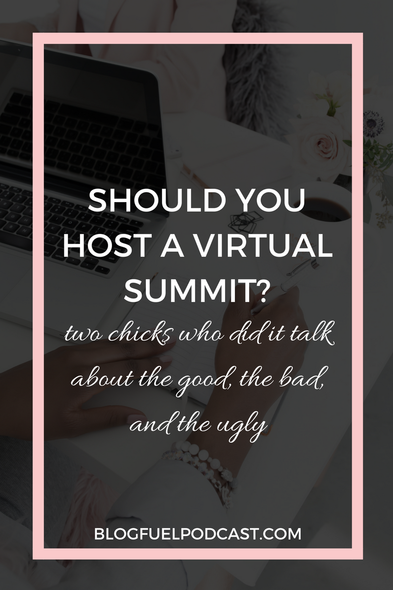 Two summits under our belts, organized differently - one done in 3 weeks, one in 90 days. We discuss the good, the bad, and the ugly of hosting virtual summits.
