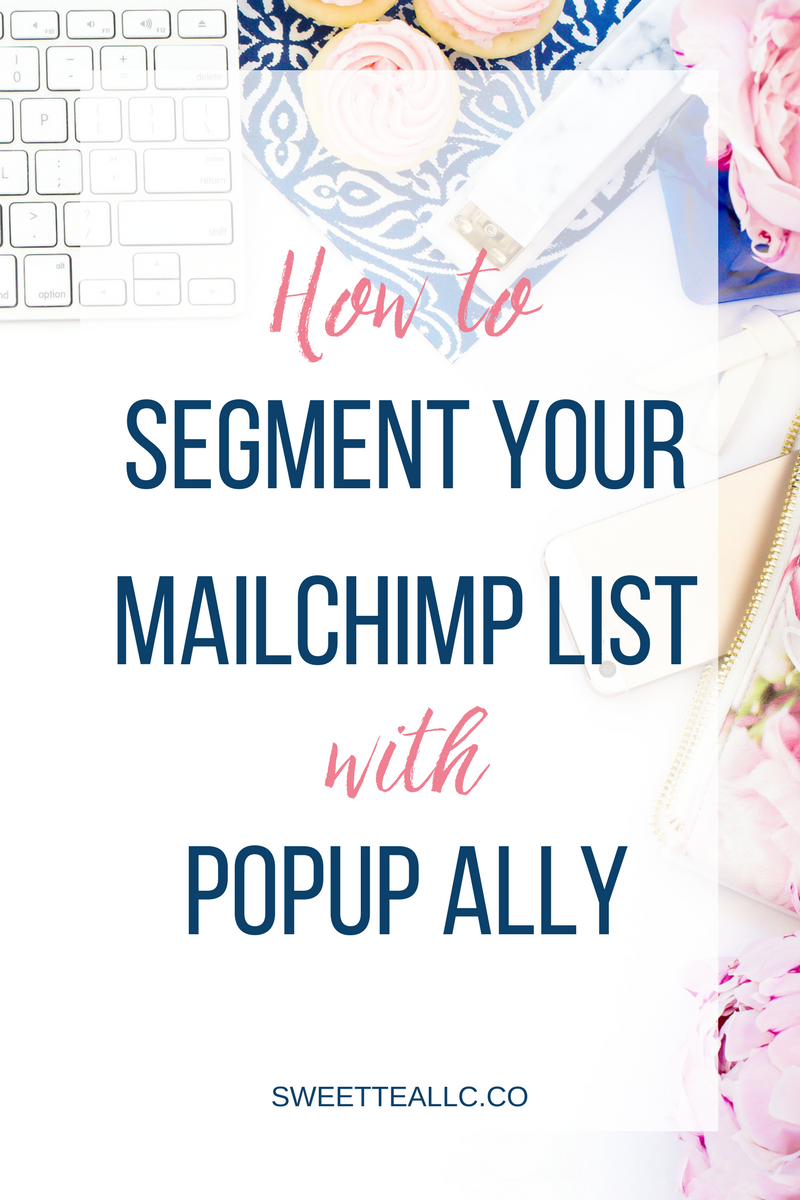 Finally! It IS possible to use the free version of Popup Ally and specify which segment of your list these subscribers do into! This handy tutorial will show you exactly how to do it.