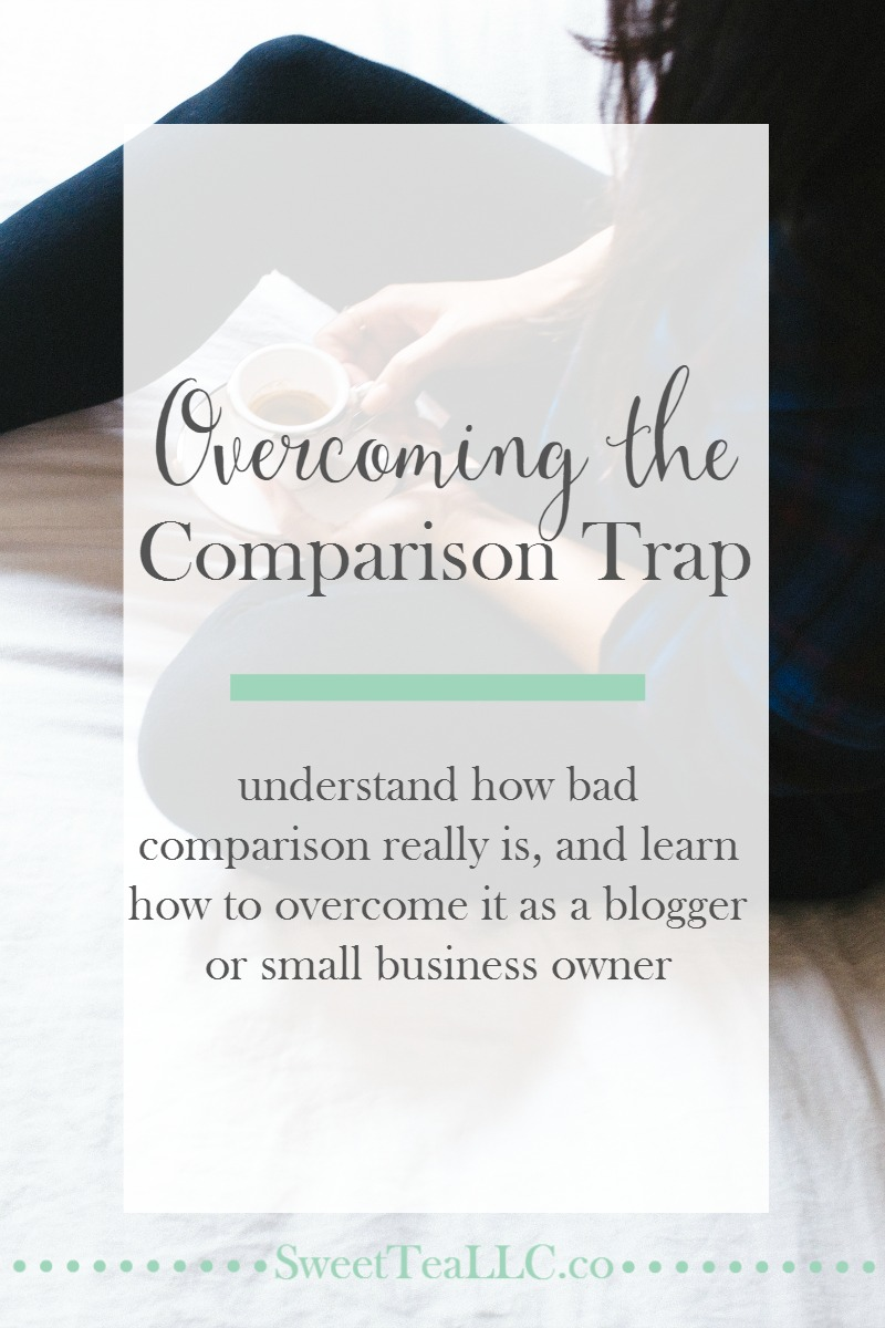 Comparison is the thief of joy, and for bloggers and creatives who work online, social media can wreak havoc on our mental state. Learn how to overcome the comparison trap and get back to blogging.