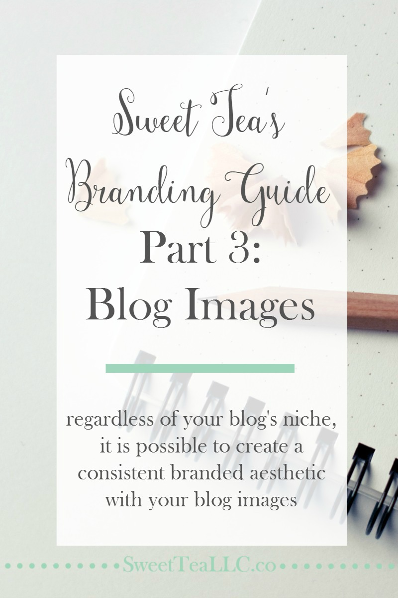 Regardless of your blog's niche, you can (and should!) create a consistent and branded aesthetic with your blogs images. These examples and tips can help you achieve a consistent brand.