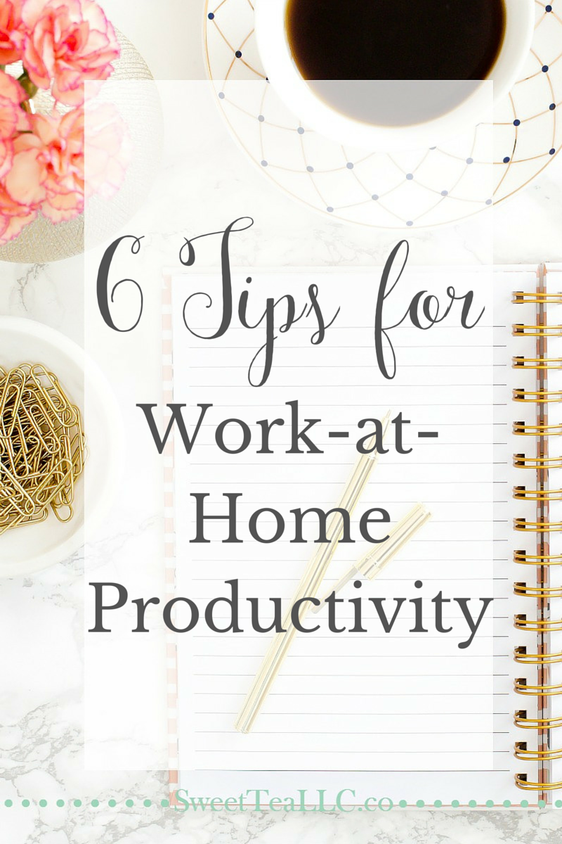 Working from home takes structure and discipline. After becoming a part-time work-at-home entrepreneur several months ago, I've learned ways to be more productive with my time and maintain my sanity. These work-at-home tips will help busy solopreneurs be successful!