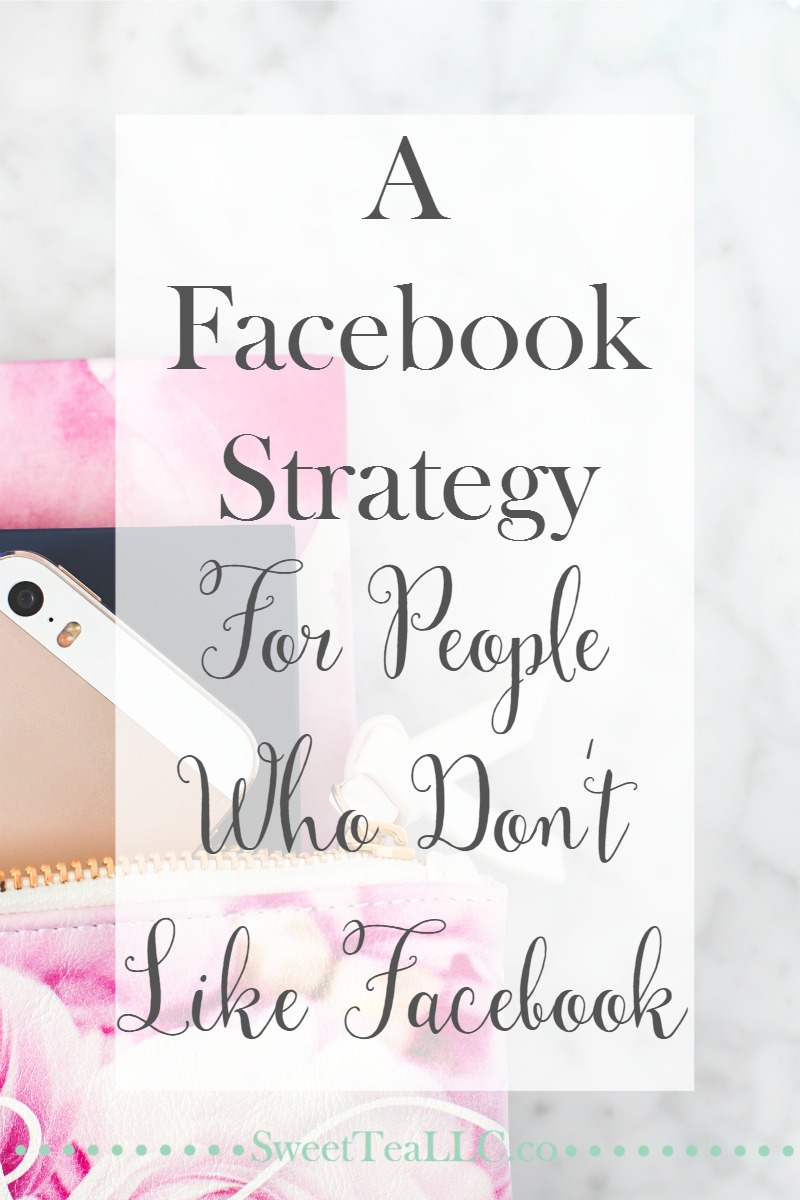 If Facebook's recent algorithm changes have left you with a splitting headache, I feel your pain. Learn & understand what Facebook likes and how users use the platform in order to create a Facebook strategy for people who don't like Facebook (like me!).
