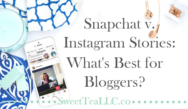 Instagram launched their new Stories feature and a lot of loyal Snapchat users went insane, but when you look at an apples-to-apples comparison, which one is best for bloggers? Learn about the features and stats of each platform and make the decision yourself, and learn how to creatively use Stories to improve engagement on your blog posts in fun new ways.