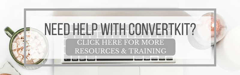 ConvertKit for Bloggers: resources, educational content, video tutorials, and how to work with a certified ConvertKit expert.