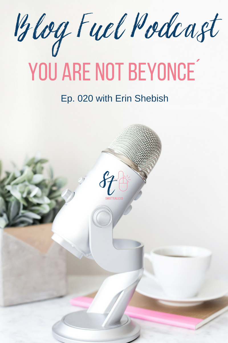 """Let's be real: You are not Beyonce. You may have seen the meme going around social media that says, """"You have the same 24 hours as Beyonce."""" While we may have the same 24 hours, we don't have a team of assistants to take things off of our plates. So today, Erin and I are talking about time & project management. We're sharing things that we personally use and provide tips to help you manage ALL THE THINGS with your blog & business."""