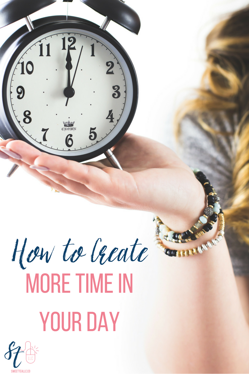 The biggest problem most people have is TIME. We never have enough of it, but it's usually because we don't use what time we have efficiently. Try one or all of these time management strategies to take back control and create more time in your day.