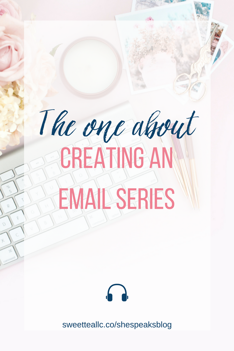 Courses delivered through an email series are excellent list-building tools, help you promote a paid course or service, or determine the interest for an idea. Learn how to set it up and get tons of tips in this episode of She Speaks Blog!