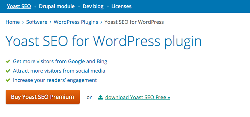 Yoast SEO plugin is possibly the most important and useful plugin for self-hosted Wordpress sites, helping website owners establish authority through SEO, build XML sitemaps, and so much more.