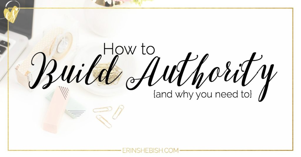 Building an authority is so important for your business. Find out why you need one and how to build one effectively today!