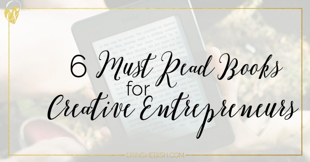 Reading is one of the best things you can do for yourself. And since you should be reading anyway, here are 6 books that are amazing reads for creative entrepreneurs!