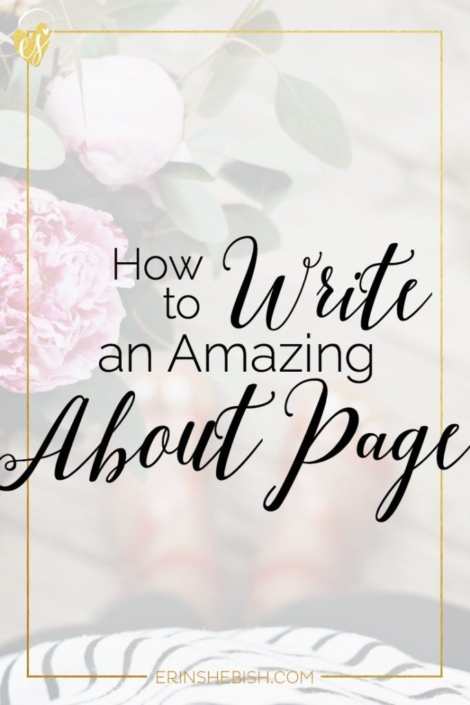 Your about page is one of the most visited pages on your site. Make it work harder for you by creating a page that will leave your readers wanting more!