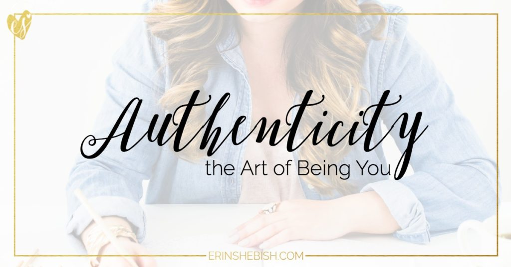 Authenticity is hard to come by sometimes as an online entrepreneur. But it's so important and the best thing that you can be!