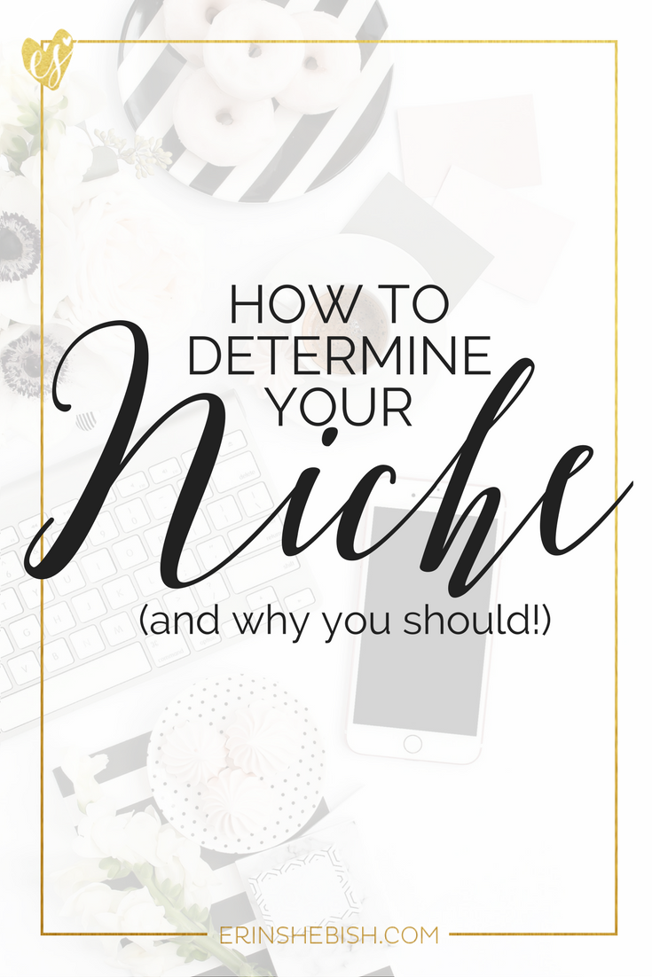 Determining your niche is a great way to really hone in on your knowledge and abilities and leverage that for success. So let's make that happen!