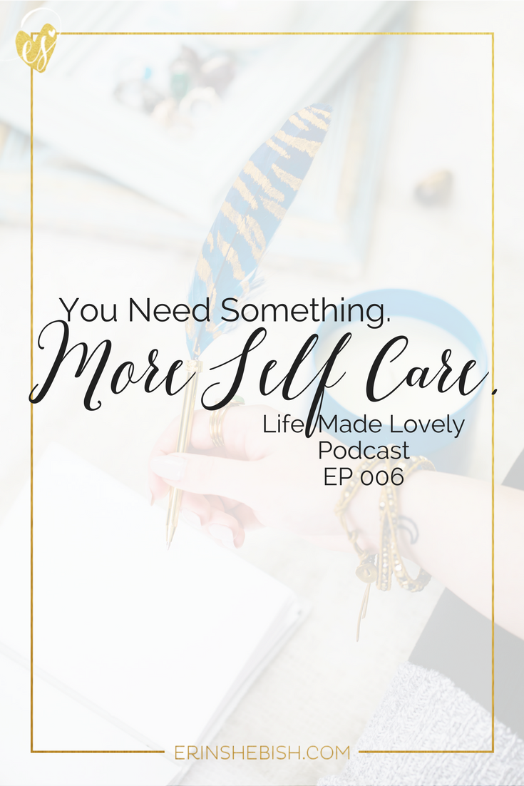 Self care isn't something you can just brush off as an entrepreneur. It's something that is absolutely vital to your business growth! Here this chat with wellness coach Ericka Eller to find out why.
