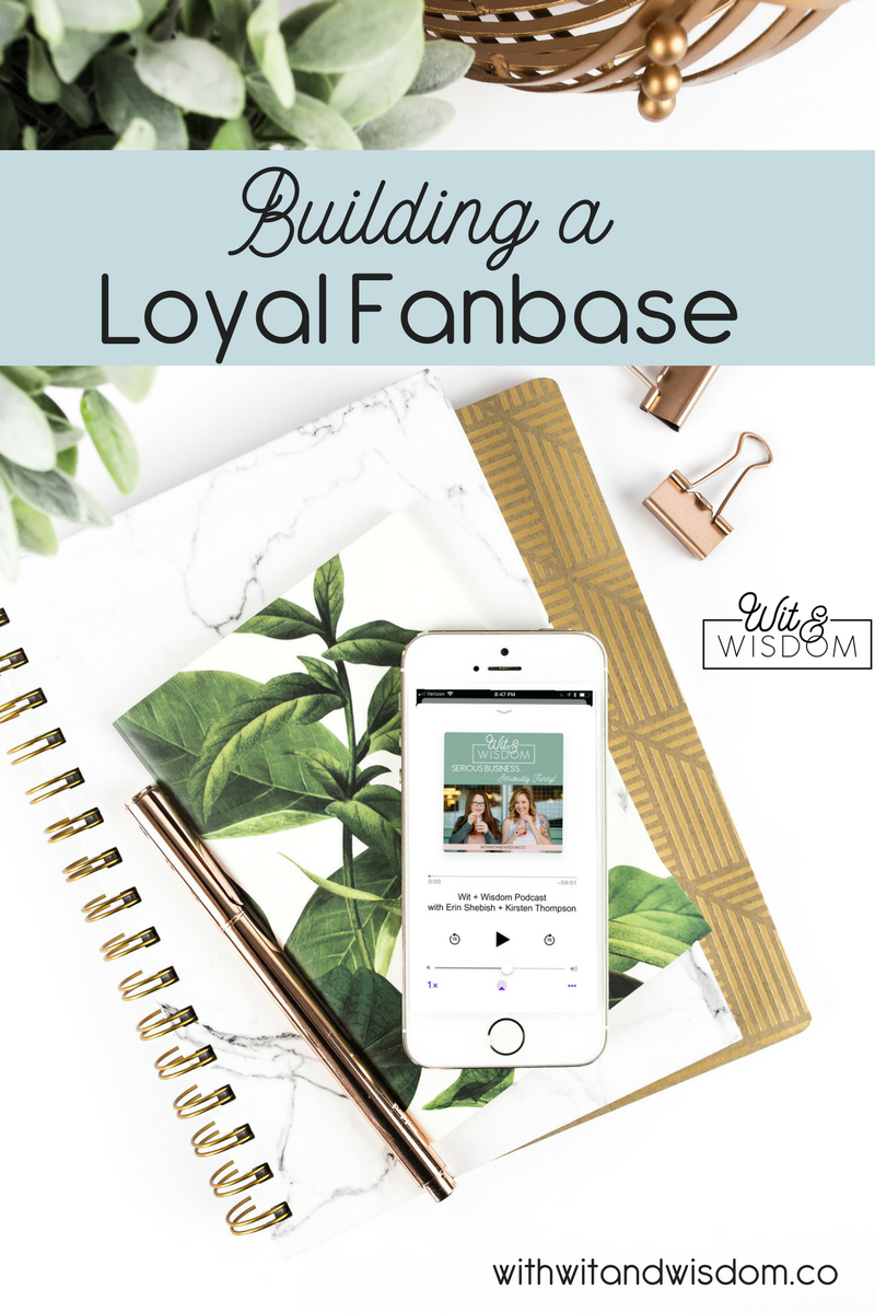 A loyal fanbase has nothing to do with the size of your email list or the number of pageviews you have. When it comes to building a loyal fanbase, it requires one thing: YOU. Let's chat.