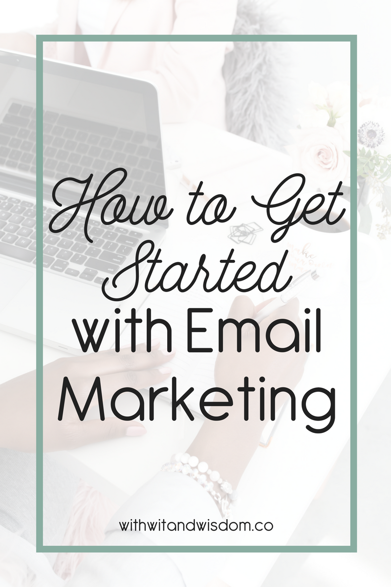 Are you struggling with getting started in email marketing? Friend, it's time to drop the struggle and make email marketing a priority. Today, we're going to break it down into a few simple steps!