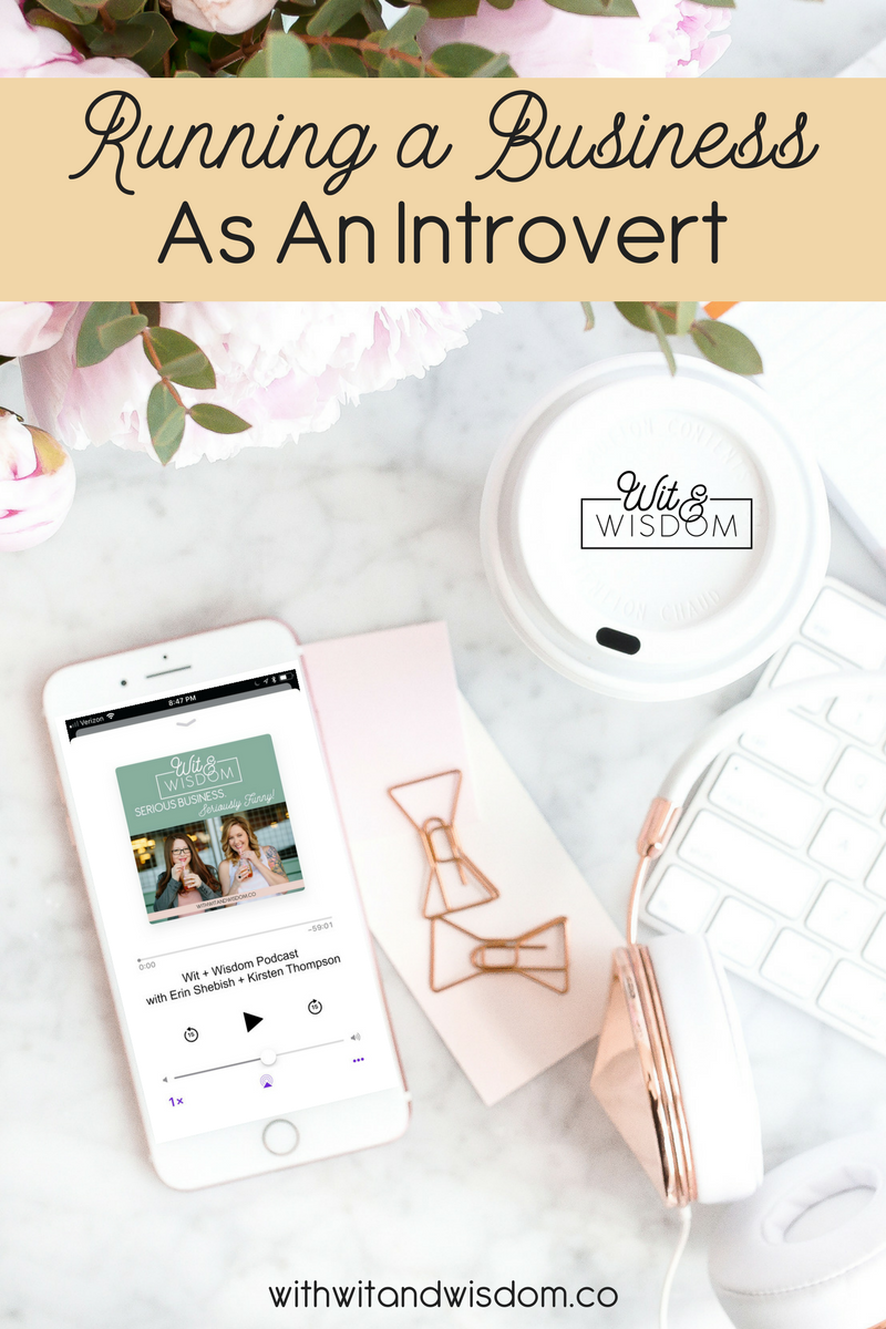 Introverts face a challenge when running a business. They have to step far outside of their comfort zone and put themselves out there. But staying true to what you know is right, and being confident about your business, will help you continue to succeed.