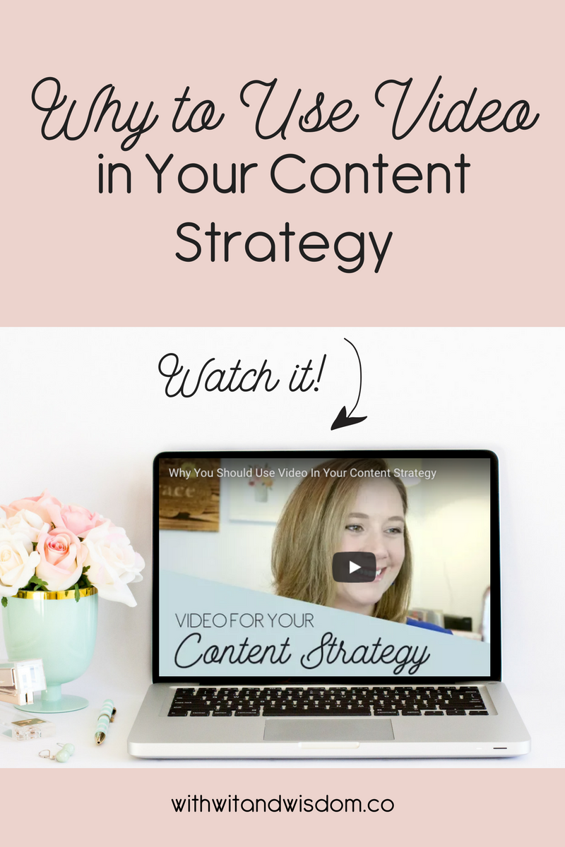 Video is gaining in popularity, so if you're not using video in your content strategy, you're missing out on a lot of potential traffic and leads.