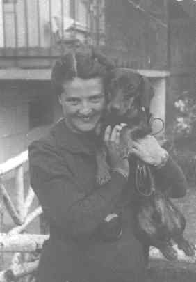 Mamá, Cesia Baumhol de Wang. Stryj 1936