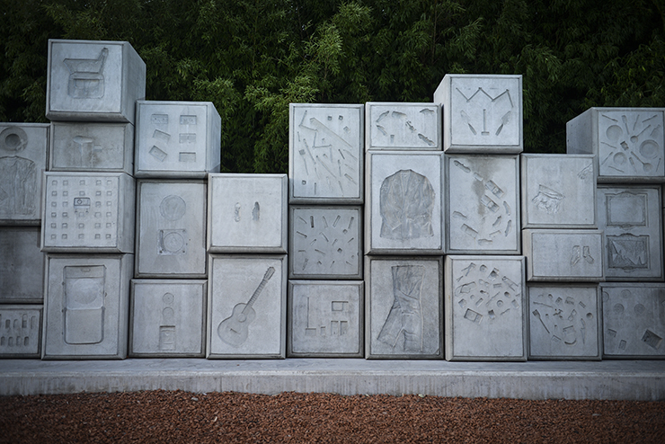 vista parcial del Monumento