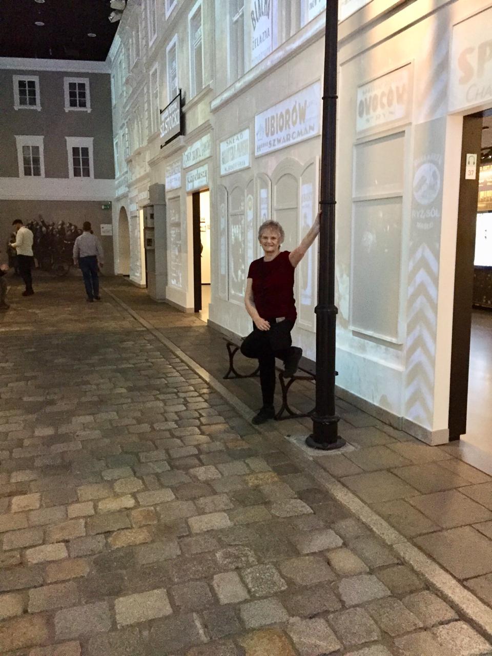 en el Museo Polin, una calle del gueto