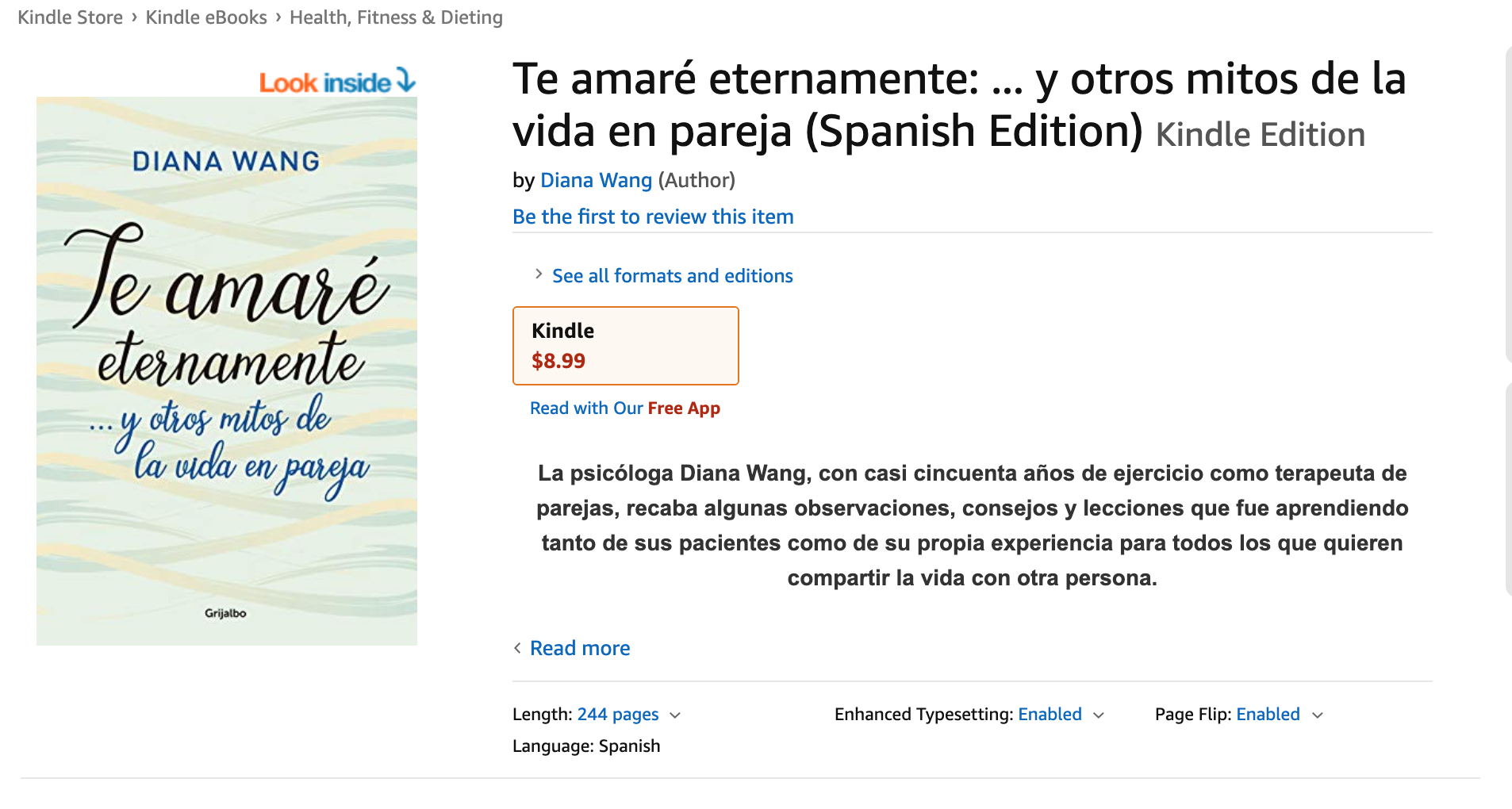 en Kindle, Amazon