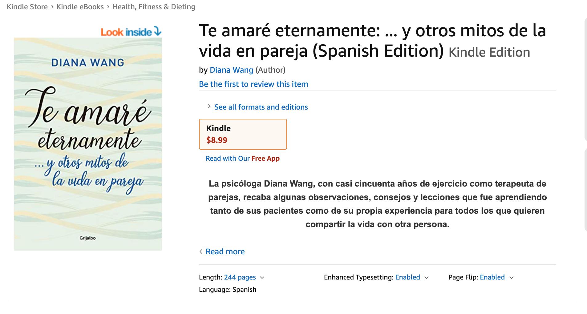 en Kindle, Amazon
