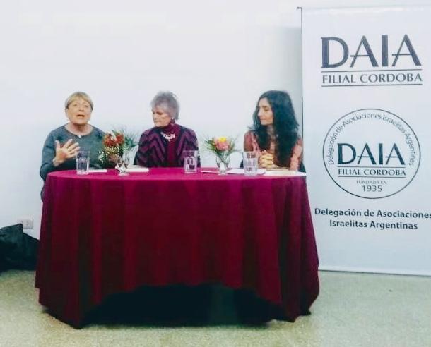 Aida Ender, DW y Soledad Bentolila