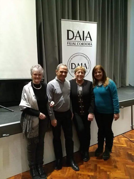 Con Luis Klinger y Sofía Romano