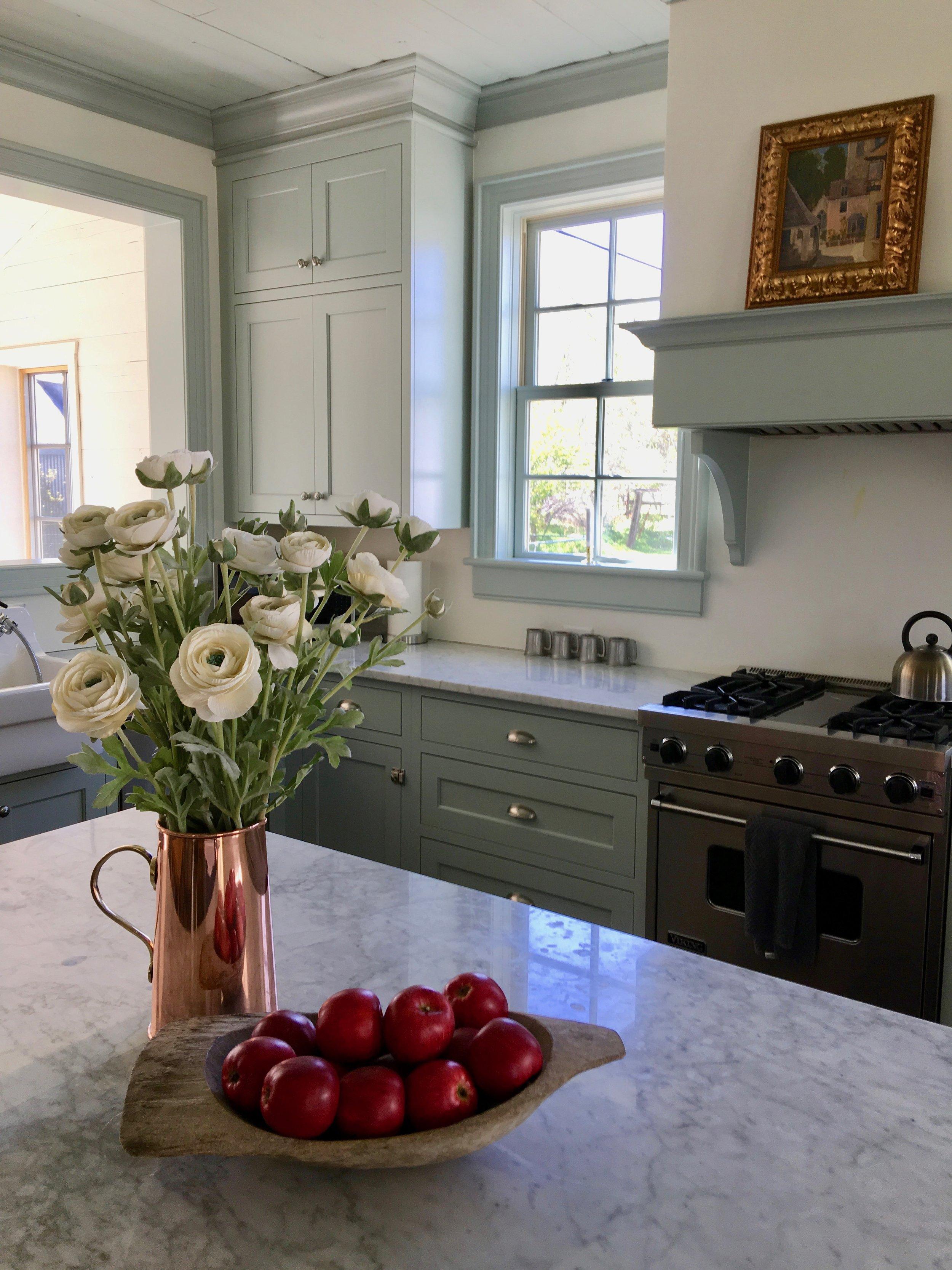 Pioneer style kitchen