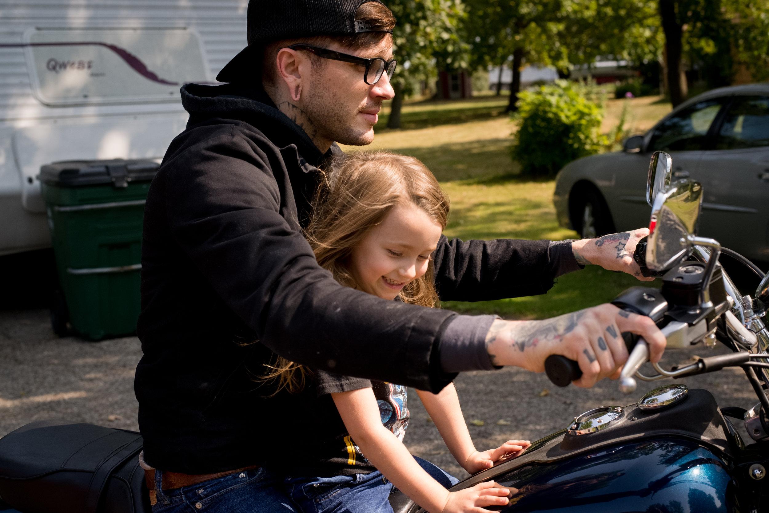 Motorcycle Dad