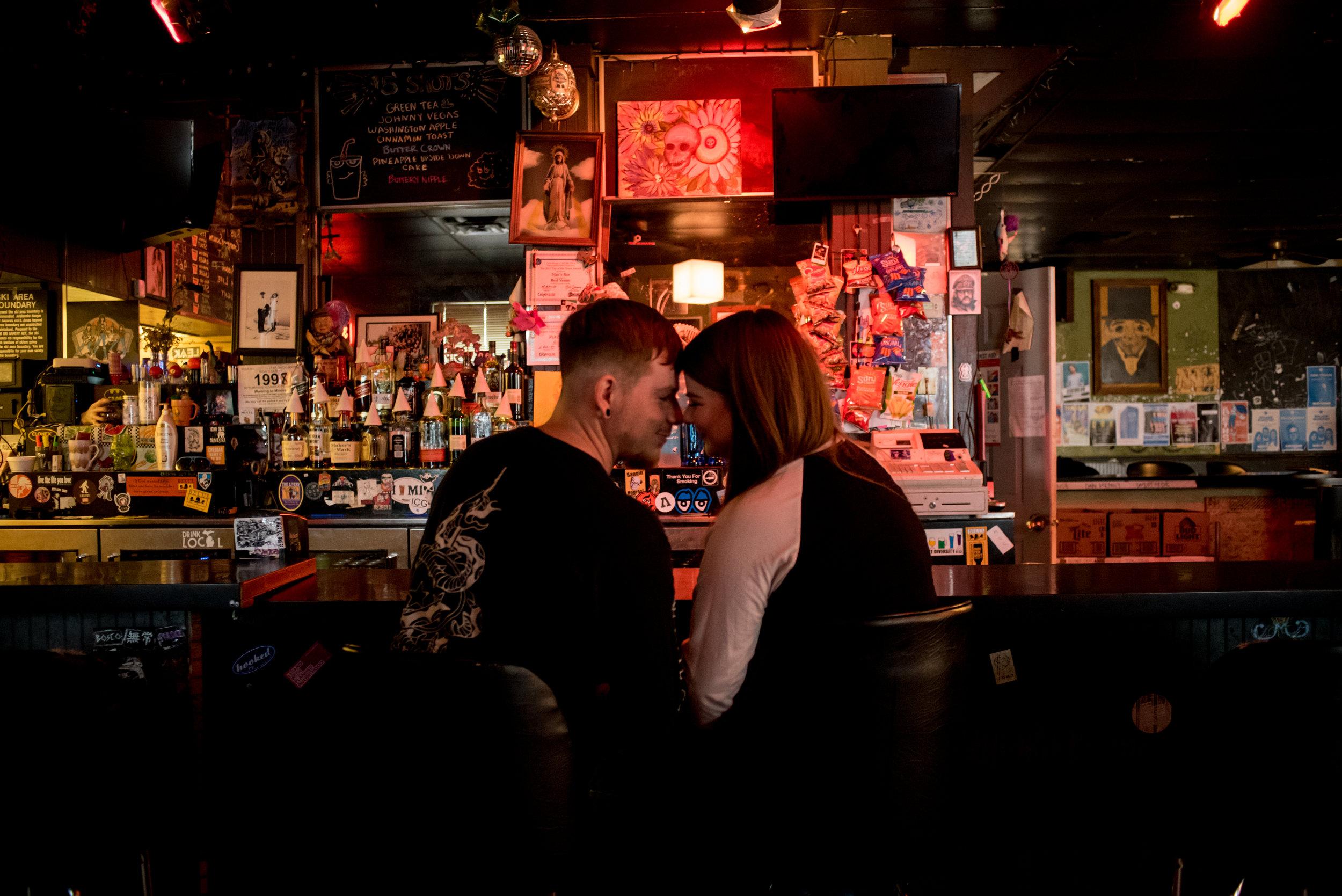Mac's Bar Engagement, Lansing, Michigan