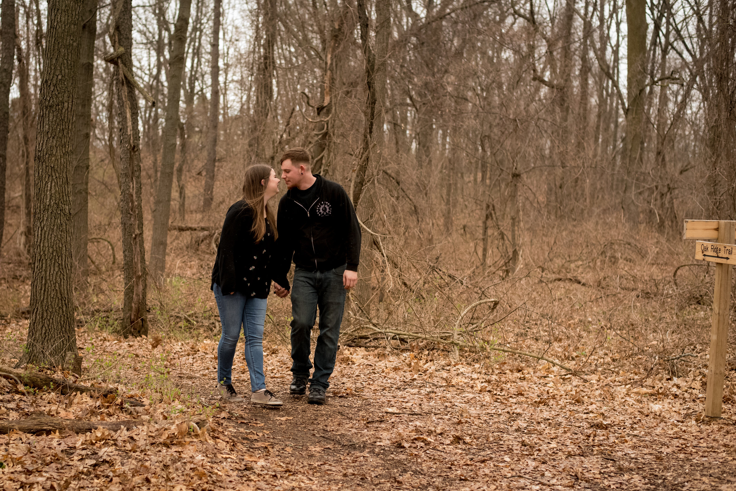 Fenner Nature Center Engagement, Lansing, Michigan