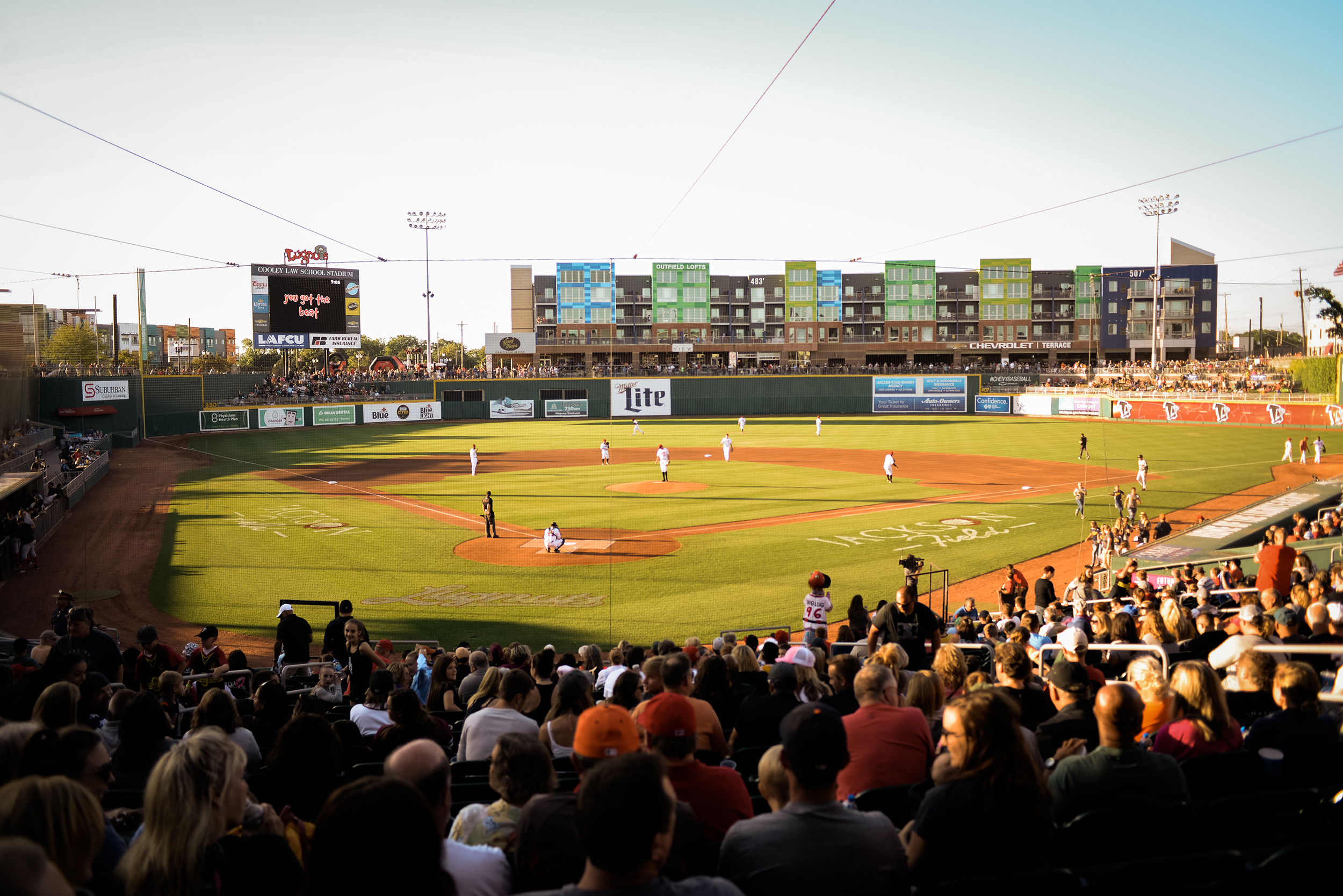 Lansing, Michigan Lugnuts Baseball