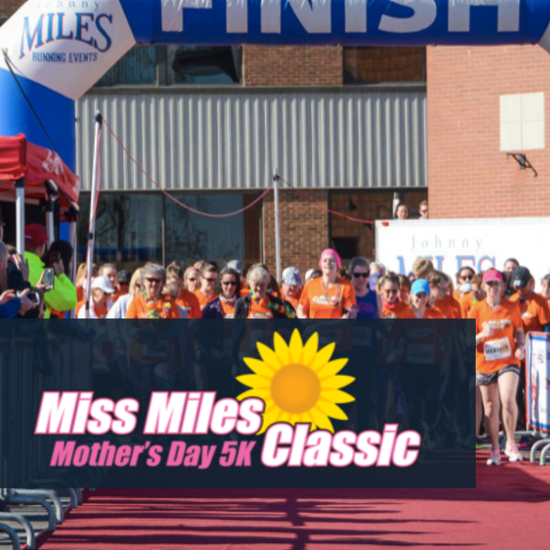 Join us on Mother's Day 2019 for the 6th Annual Miss Miles 5 km Fun Run / Walk . You can celebrate the strength and beauty of women by running in this all-female event.